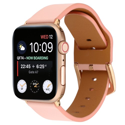 7c63c9ca0f0 Genuine Leather Watch Band Strap for Apple Watch Series 4 40mm / Series 3 2  1