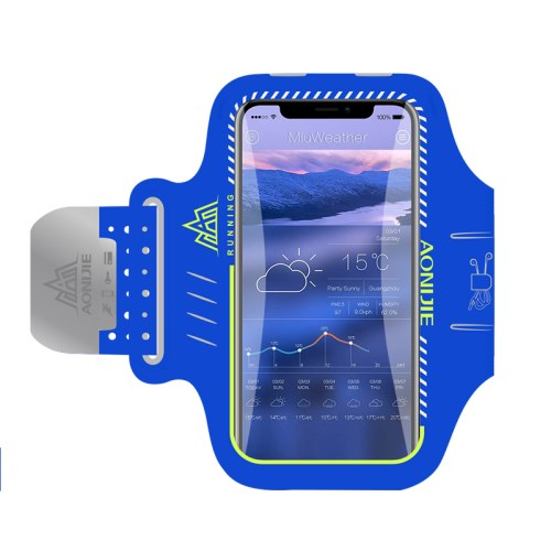 cc1adabbe8d AONIJIE Universal 6 inch Smartphones Sports Armband Case for Running  Fitness and Cycling, Phone Compartment